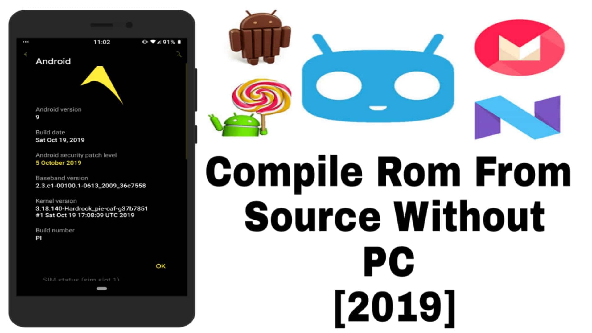 Compile Rom From Source Without PC