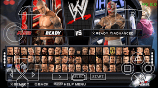 WWE Smackdown Vs Raw 2011 PSP Gameplay on any Android Phone.