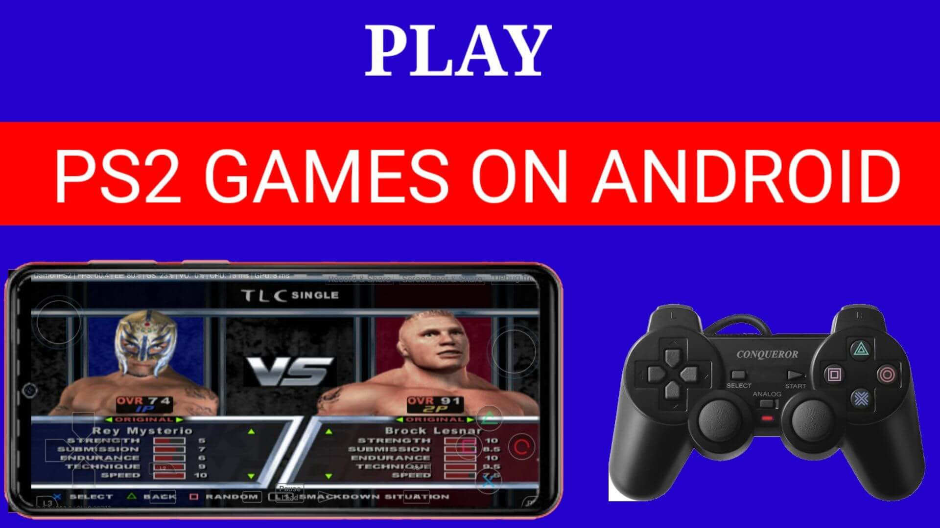 How To Play PS2 Games On Android | PS2 Emulator For Android