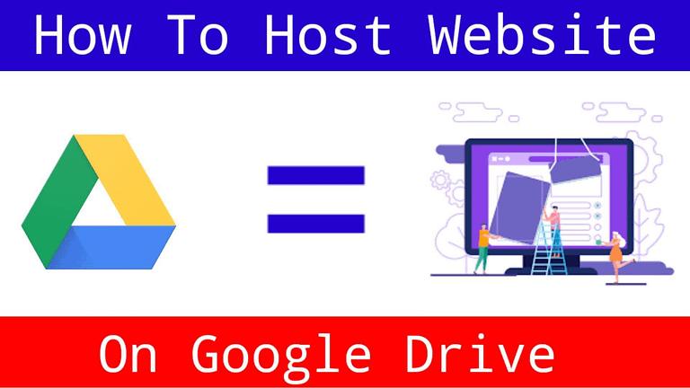 Host Website On Google Drive