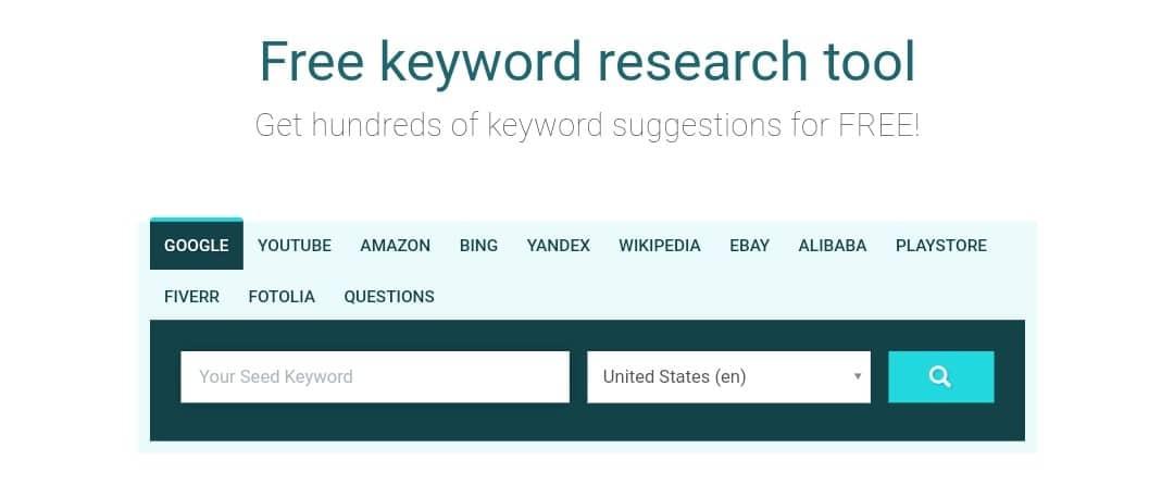 keyword io- Best Free Keyword Research Tool