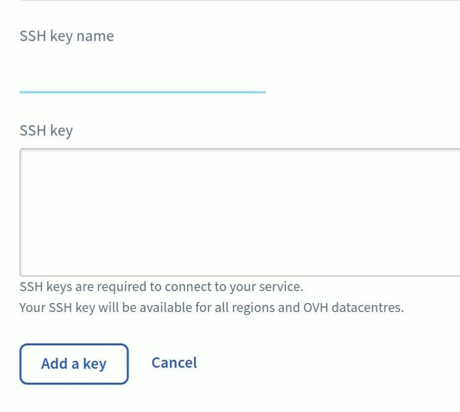 Ubuntu server - SSH key